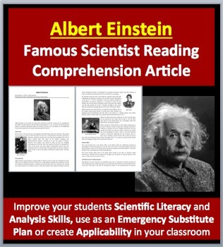 Albert Einstein - The Father Of Science? - A Famous Scient