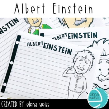 Albert Einstein Writing Paper