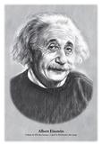 Albert Einstein - original illustration