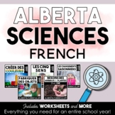 First Grade Science | Alberta Curriculum | FRENCH BUNDLE