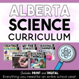 First Grade Science | Alberta Curriculum | BUNDLE