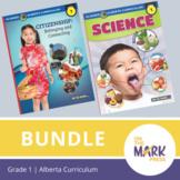 Alberta Grade 1 Science & Social Studies Bundle!