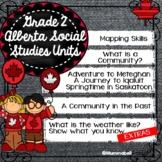 Alberta Grade 2 Social Studies Bundle - ALL UNITS