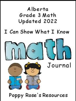 Alberta Grade 3 Math Journal