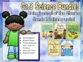 Alberta Grade 3 Science Bundle! All units + Scientific Method unit!