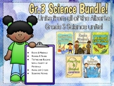 Alberta Grade 3 Science Bundle! All units + Scientific Met