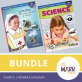 Alberta Grade 5 Science & Social Studies Bundle!