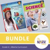 Alberta Grade 6 Science & Social Studies Bundle!