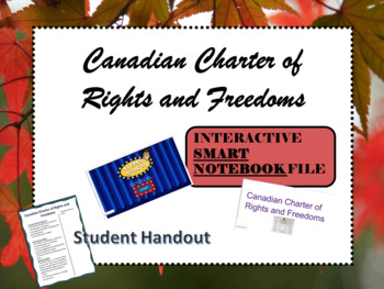 Alberta Grade 6 Social Studies-Charter of Rights and Freedoms-SMARTNOTE book