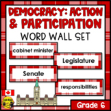 Alberta Grade 6 Social Studies Word Wall Words Editable