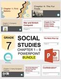 Alberta - Grade 7 Social Studies PowerPoint Bundle
