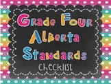Alberta Grade Four Standards Checklist