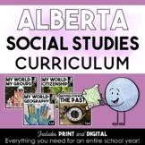 Grade One Social Studies Bundle | Alberta Curriculum