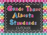 Alberta Grade Three Standards Checklist