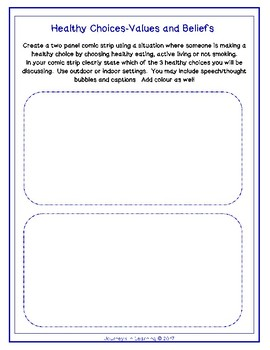 Alberta HEALTH and LIFE SKILLS Grade 6 Curriculum Activities