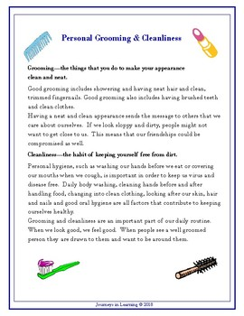 Alberta HEALTH and LIFE SKILLS Grade 7 Curriculum Activities
