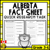 Alberta Quick Research Project