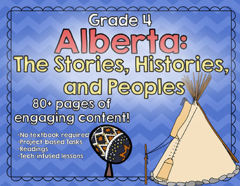 Alberta - The Stories, Histories, and Peoples  - Grade 4 Social Studies