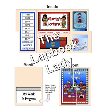 Alberta's People Lapbook (Gr.4 Alberta Social Studies)