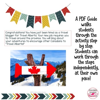 Alberta's Provincial and National Parks Blogger Road Trip Digital Activity