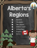 Alberta's Regions ~ Research, Mini-Lessons, Writing and More!