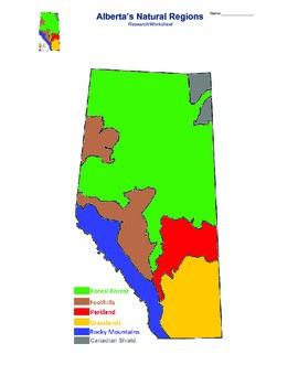 Alberta's Natural Regions