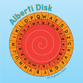 Alberti Disk Cipher Wheel