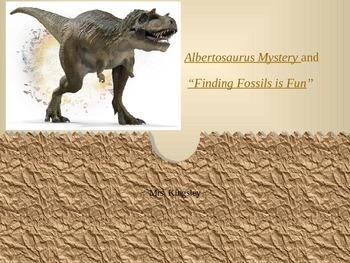 Albertosaurus Mystery PP Journey's