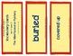 Albertosaurus Mystery, Vocabulary Cards, Unit 4 Lesson 17, Journeys 3rd Grade