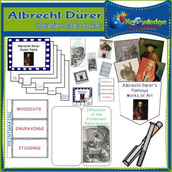 Albrecht Durer Interactive Foldable Booklets