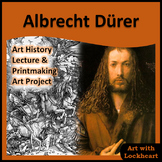 Albrecht Durer Lecture and Linocut Art Project