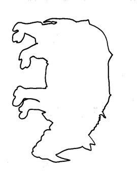 Albrecht Durer's Rhino Outline