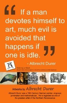 Art Room: Albrect Durer Poster 2