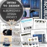 Album Cover Design, Intro to Design, Media Tech, Graphic D