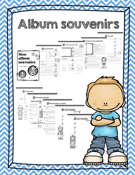 French End of Year Memory Book - Album souvenirs