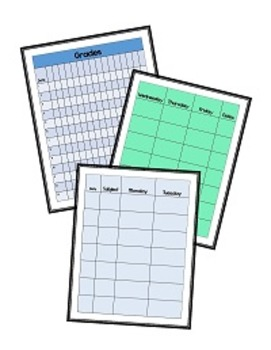 Albuquerque Amy's Teacher Planning Binder