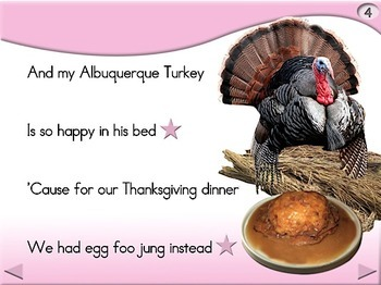 Albuquerque Turkey - Animated Step-by-Step Poem/Song - Regular