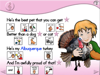 Albuquerque Turkey - Animated Step-by-Step Poem/Song PCS