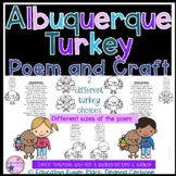 Albuquerque Turkey Poem and Craft