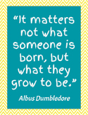 Albus Dumbledore Printable: What they grow to be