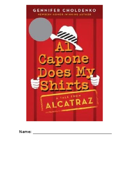 Alcapone Does My Shirts Unit Study