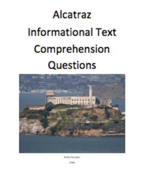 Alcatraz Informational Text and Comprehension Questions