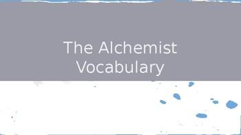 Alchemist Pre-reading Vocabulary