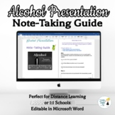 Alcohol Abuse Note-Taking Guide - Online Distance Learning