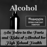 Alcohol Abuse Presentation - Editable in Microsoft PowerPoint