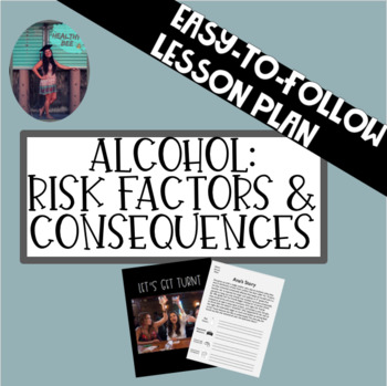 ALCOHOL LESSON PLAN: Risk Factors and Consequences