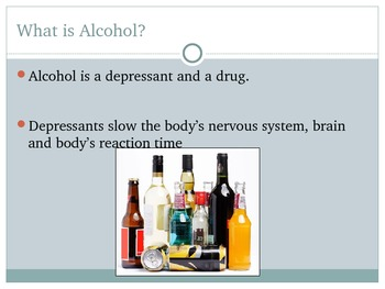 Alcohol Power Point Presentation
