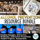 Alcohol Prevention Activities Resource Bundle   6th Grade Health