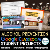 Alcohol Prevention Projects Google Classroom | Health Proj