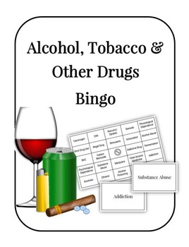 Alcohol, Tobacco and Other Drugs Bingo